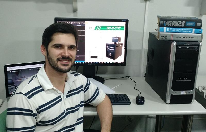 O pesquisador e sócio da FIT, Daniel Consalter